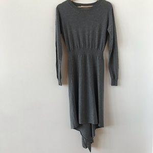 3.1 Phillip Lim gray knit sweater dress